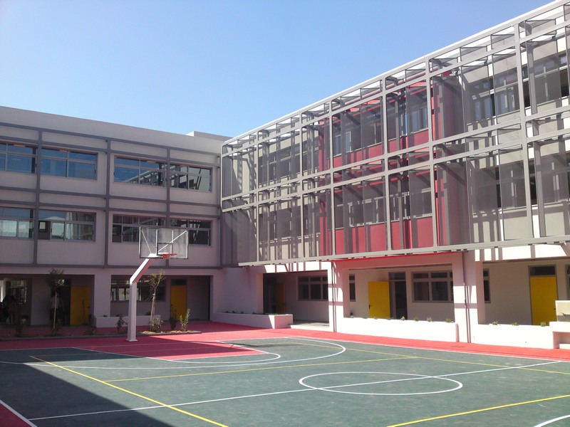 School complex and Gym, Kareas, Athens