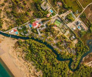 Kalogria Beach Hotel Luxury hotel complex, Kalogria, Peloponnese 2015