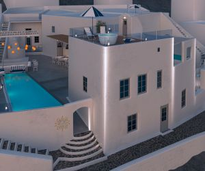 Mythical Blue, Luxury Hotel, Santorini
