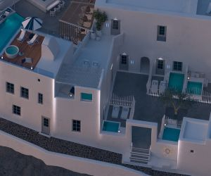 Mythical Blue, Luxury Hotel, Santorini, 2017