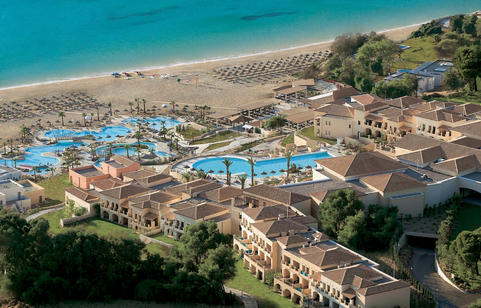Grecotel Olympia Riviera, Luxury hotel complex, Killini, Peloponnese 2004 *in cooperation with W.A.T.G.